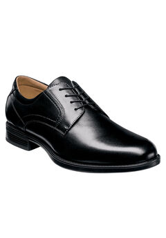 Florsheim® Midtown Plain Toe Oxford, BLACK