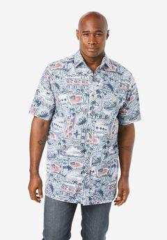 Americana Shirt, BATIK FLAG