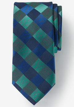 Classic Fancy Tie, TIDAL GREEN CHECK