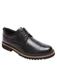 Rockport® Marshall Plain Toe Oxfords, BLACK