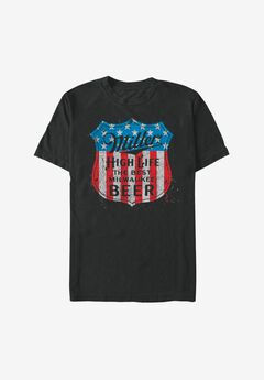 Miller Time Graphic Tee,