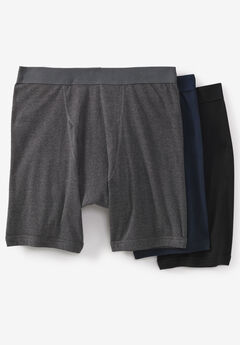 Cotton Cycle Briefs 3-Pack, ASSORTED BASIC