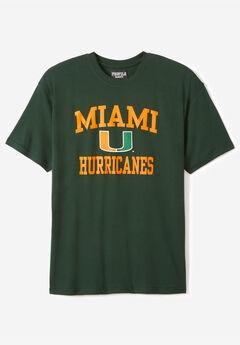 NCAA Short-Sleeve Team T-Shirt, MIAMI