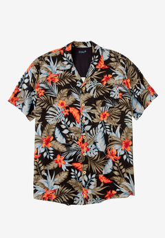KS Island™ Tropical Camp Shirt ,