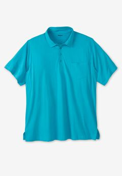 Lightweight Pocket Golf Polo Shirt,