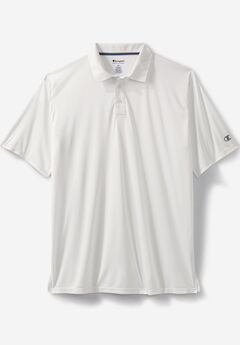 Champion® Vapor® Performance Polo, WHITE