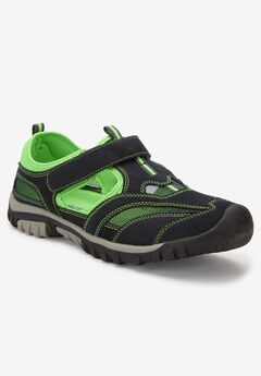 Sport Sandal , BLACK LIME