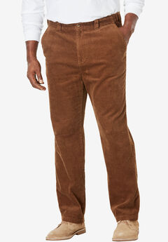 Six-Wale Corduroy Plain Front Pants,