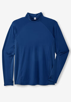 Mock Neck Base Layer Shirt by KS Sport™,
