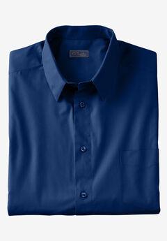 KS Signature No Hassle® Long-Sleeve Dress Shirt, MIDNIGHT NAVY
