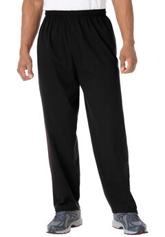 Lightweight Jersey Sweatpants, BLACK