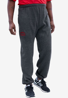 Elastic Cuff Logo Fleece Pants by Russell Athletic®,