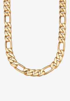 """Figaro-Link Necklace 24"""","""