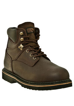"""McRae 6"""" Soft Toe Lace Boots,"""