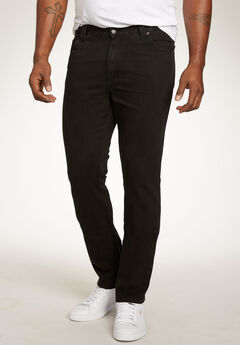 Liberty Blues® Modern-Fit Side Elastic 5-Pocket Jeans,