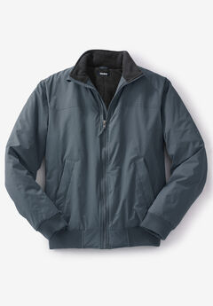 Fleece-Lined Bomber Jacket,