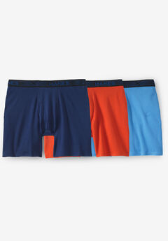 Hanes® X-Temp® FreshIQ® Novelty Boxer Brief 3-Pack, ASSORTED SOLID