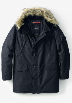 North 56°4 Padded Parka Jacket, BLACK