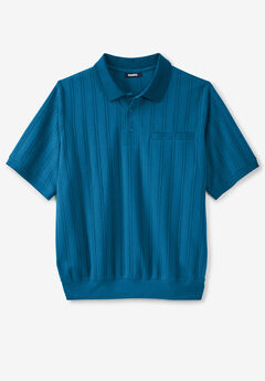 Banded Bottom Polo Shirt,