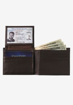 Slim Fold Wallet, BROWN