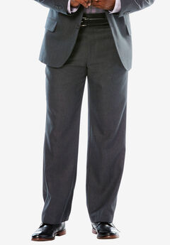 KS Signature Easy Movement® Plain Front Expandable Suit Separate Dress Pants,
