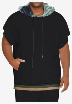 MVP Collections® Short-Sleeve Tie-Dye Hoodie,
