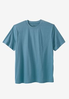 Crewneck Flex Short-Sleeve Tee by Liberty Blues® , ASH BLUE
