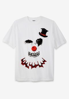 KingSize Seasonal Graphic Tee, CLOWN