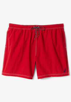 Nautica® Anchor Swim Trunks , NAUTICA RED