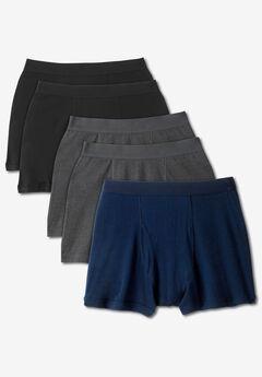 Cotton Boxer Briefs 5-Pack,