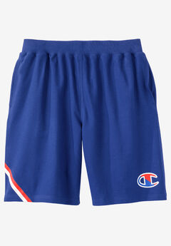 Race Stripe Logo Shorts by Champion®,