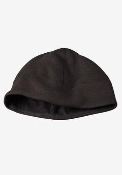 Sweater Fleece Cap, BLACK MARL