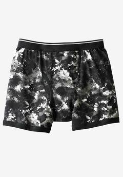 Patterned Boxer Briefs, BLACK MARBLE