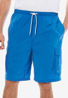 KS Island™ Cargo Swim Trunks, BRIGHT BLUE