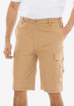 "10"" Canyon Cargo Shorts,"