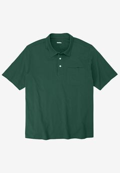 Lightweight Polo T-Shirt, HUNTER