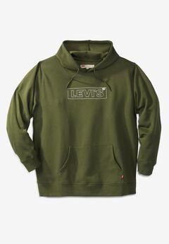 Levi's® LOGO PULLOVER FLEECE HOODIE,
