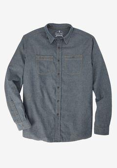 Long-Sleeve Utility Shirt by Liberty Blues®,