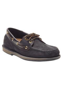 Rockport® Perth Boat Shoes , BLACK