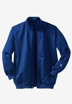 Track Jacket by KS Sport™, MIDNIGHT NAVY