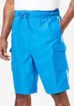 Double Stripe Board Shorts,