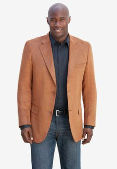 Microsuede Sport Coat by KS Signature,
