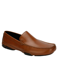 REACTION Kenneth Cole® Modern World Moc Toe Driving Loafer, COGNAC