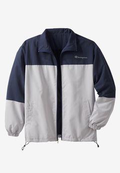 Track Jacket by Champion®, NAVY GREY