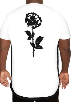MVP Collections® Rose Screen Hi-Lo Tee,