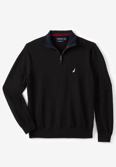 "Nautica® 1/4"" Zip Navtech Sweater,"