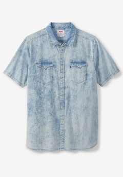 Short-Sleeve Woven Shirt by Levi's®, TOWEL WASH