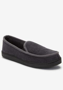 Cotton Corduroy Slippers, STEEL