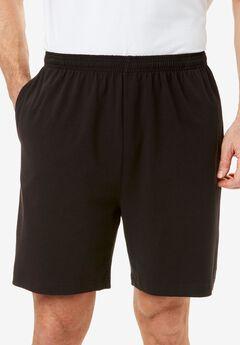 Lightweight Basic Shorts, BLACK
