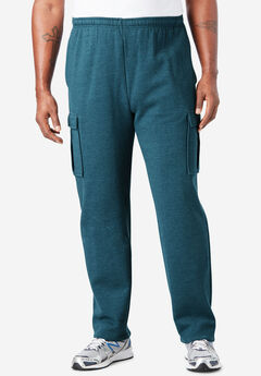 Fleece Cargo Sweatpants,
